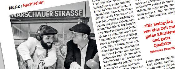 Interview with tip Berlin magazine