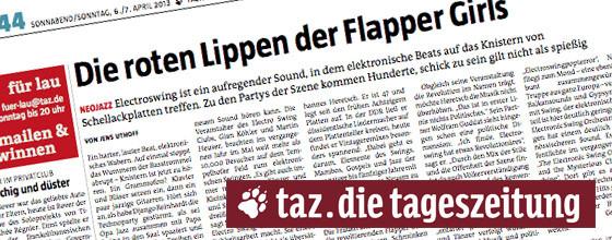 Interview with taz – die tageszeitung