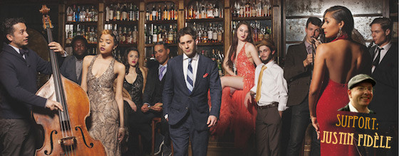 Scott Bradlee & Postmodern Jukebox – Germany Tour 2015