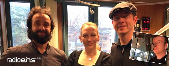 Interview @ Radio Eins